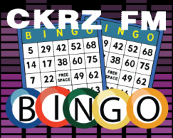 CKRZ Sunday Night Radio Bingo 7pm Bingo Sales Location Listing