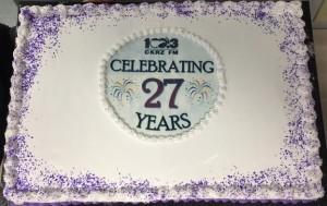 27 years cake
