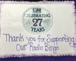Thank You Radio Bingo Customers for Celebrating with Us!!