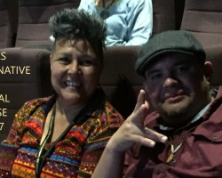 "IMAGINENATIVE FILM FESTIVAL presents ""NDN's on the Airwaves"" by Six Nations Own January Rogers"