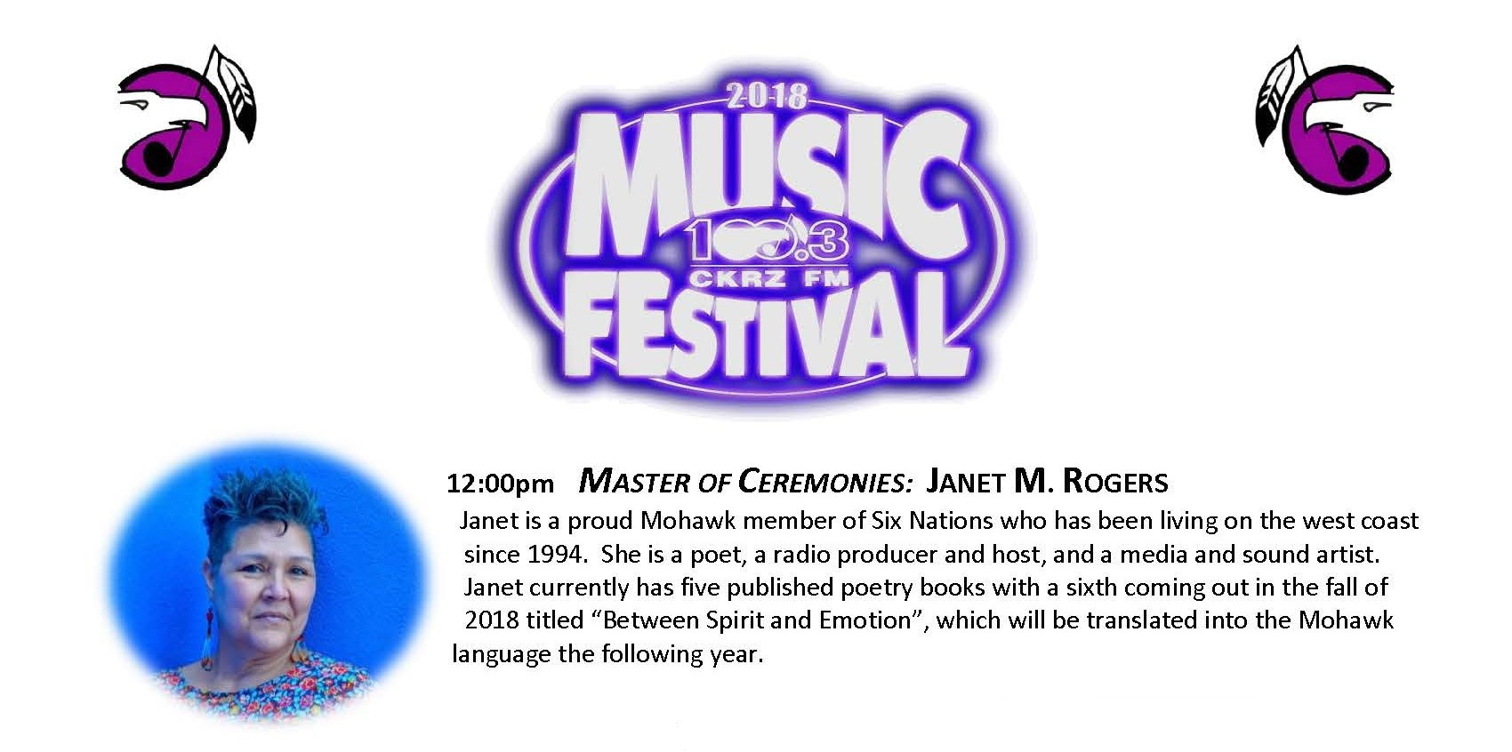 1. Music Fest Lineup - Janet