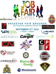 CKRZ Hosting Job Fair Thursday Sept 13, 2018 JOIN US!!
