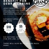 Breakfast Benefit for Debra Labine