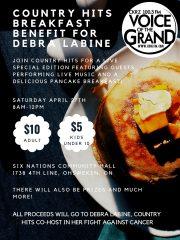 Breakfast Benefit for Debra Labine